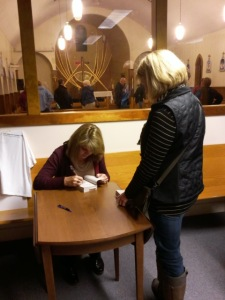 Lisa Gardner book signing