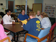 book discussion Effingham Public Library, October 2005