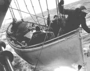 USCG rescue from S.S. Fort Mercer, 1952